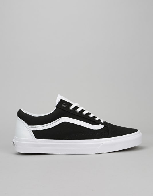 Vans Old Skool Skate Shoes - College/Black