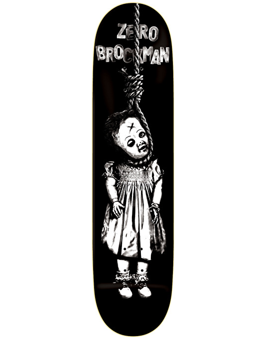 Zero Brockman Toy Doll Pro Deck - 8""