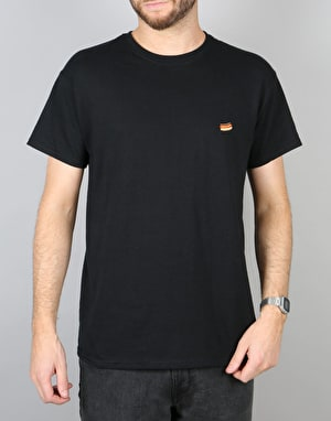 Route One Hot Dog T-Shirt - Black