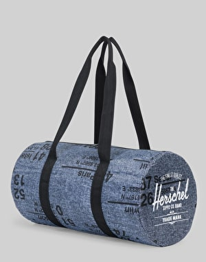 Herschel Supply Co. Packable Duffel Bag - Raven Crosshatch Site