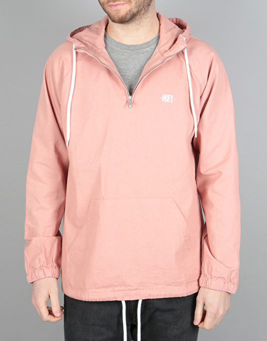 Obey Jungle Denim Anorak - Rose