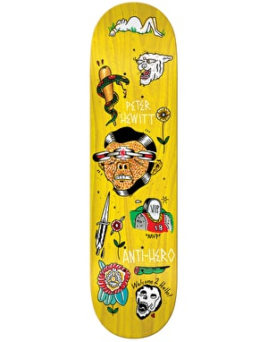 Anti Hero Hewitt Grape Dope Pro Deck - 8.25