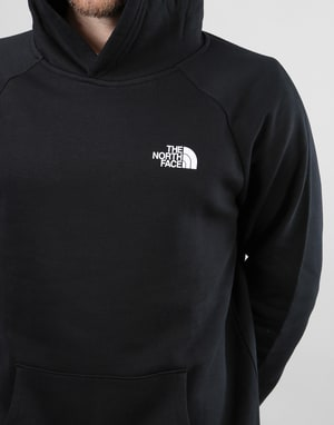 The North Face Raglan Red Box Pullover Hoodie - TNF Black