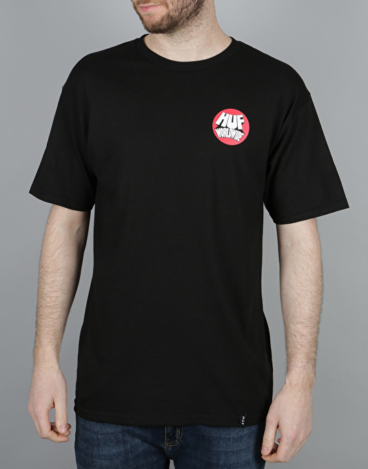 HUF Rhythm T-Shirt - Black