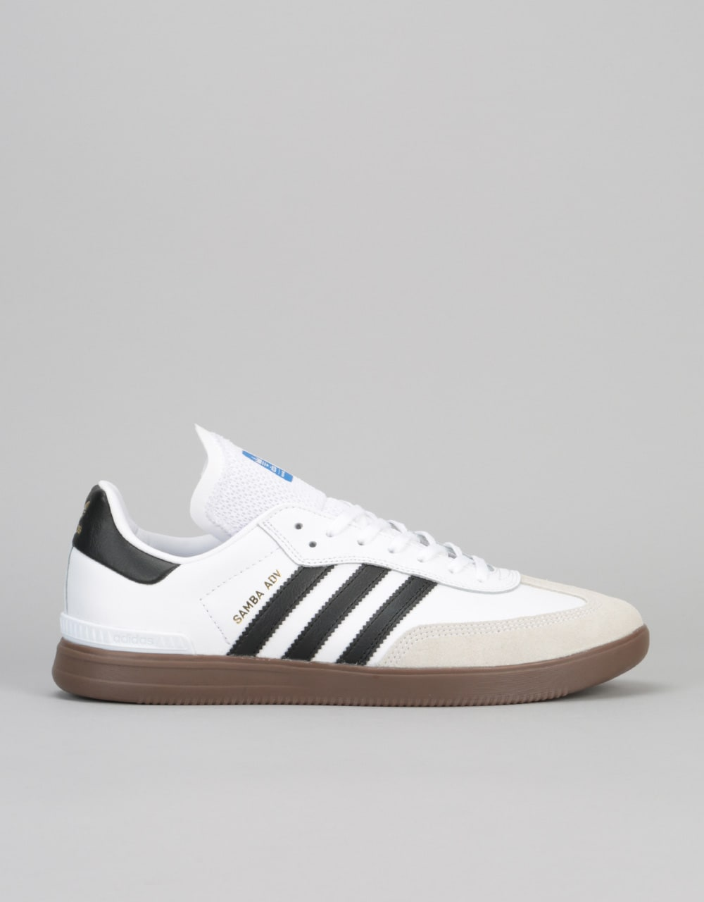new concept f3f38 7e7be Adidas Samba ADV Skate Shoes - Ftwr WhiteCore BlackGum  Mens Footwear   Trainers  Skate Shoes  Sneakers  Runners  Route One