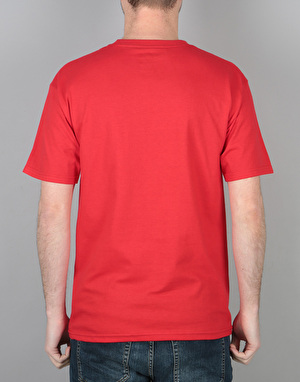 HUF Original Logo T-Shirt - Red