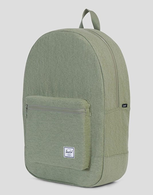Herschel Supply Co Cotton Casuals Daypack Backpack - Deep Lichen Green