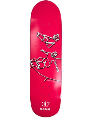 Girl x (PRODUCT) RED x Lance Mountain McCrank Pro Deck - 8.5