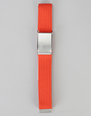 Fjällräven Merano Canvas Web Belt - Flame Orange