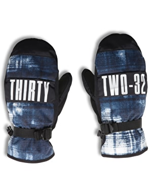 Thirty Two Herman 2017 Snowboard Mitts - Blue