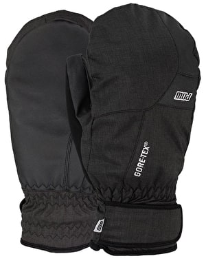 Pow Warner GTX (Short) 2017 Snowboard Mitts - Black