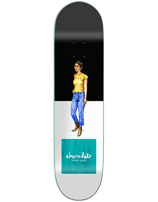 Chocolate Alvarez Everyday People Skateboard Deck - 8""