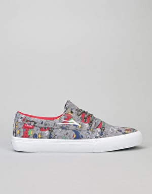 Lakai x Sanrio Camby Skate Shoes R1 Exclusive - Grey Textile