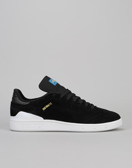 ADIDAS SKATEBOARDING BUSENITZ RX SHOE CORE BLACK WHITE BLUEBIRD SIZES 8 TO 12