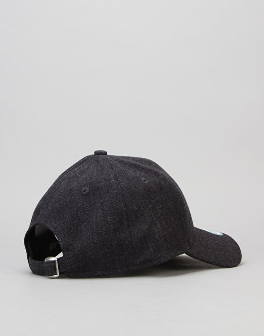 New Era MLB  New York Yankees Heather Essential Cap - Black