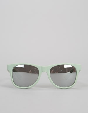Vans Spicoli 4 Sunglasses - Split Green/Frosted Silver
