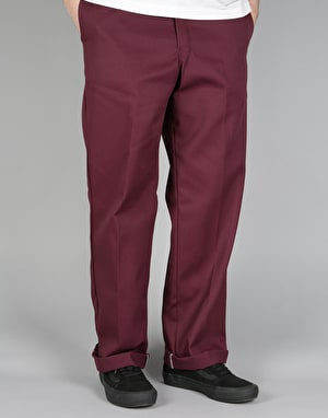 Dickies 874 Work Pants - Maroon