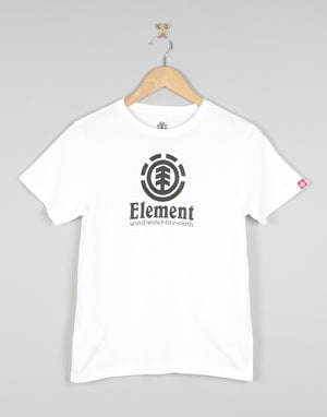 Element Vertical Boys T-Shirt - Optic White
