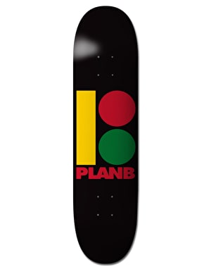Plan B Rasta B Team Deck - 7.75