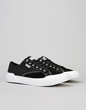 HUF Classic Lo Essential Skate Shoes - Black/White