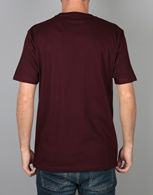 Carhartt S/S Chase T-Shirt  - Amarone Heather/Gold