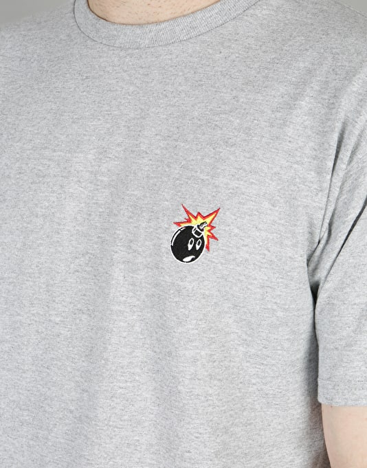 The Hundreds Crest Adam T-Shirt - Athletic Heather