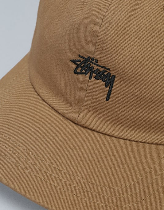 Stüssy Stock Low Cap - Light Brown