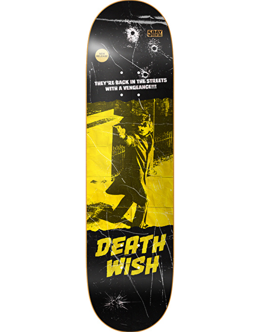 Deathwish VHS Wasteland Team Deck - 8.5""