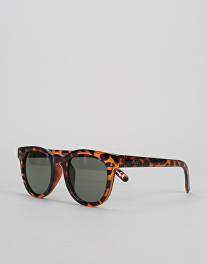 Vans Wellborn Sunglasses - Honey Tortoise/Green