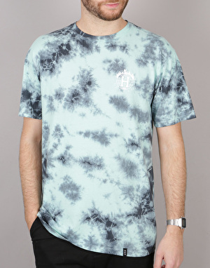 HUF x Thrasher TDS Crystal Wash T-Shirt - Mint