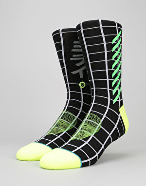 Stance Future Digital  200 Needle Socks - Black