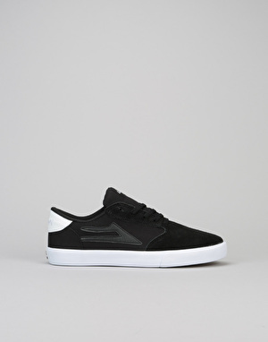 Lakai Pico Boys Skate Shoes - Black Suede