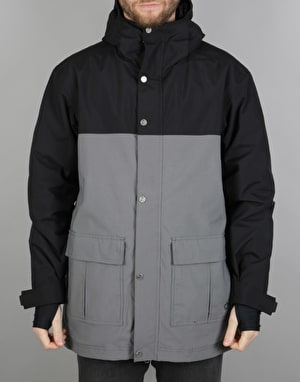 Sessions Twain 2017 Snowboard Jacket - Grey