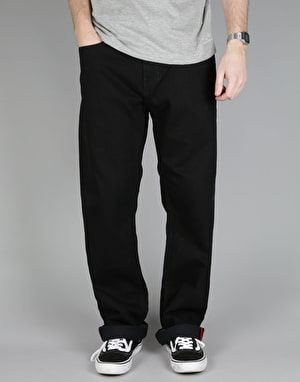 Element Rochester Denim Jeans - Black Rinse