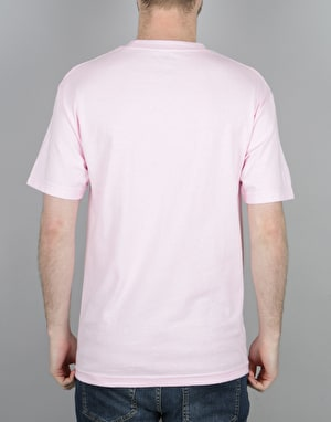 HUF Box Logo Puff T-Shirt - Pink