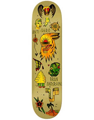 Anti Hero Anderson A Doper Grape Pro Deck - 8.28