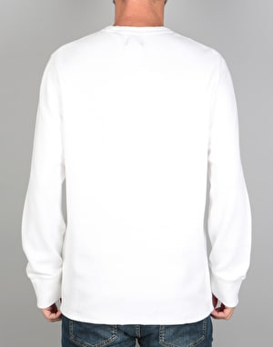 Levi's Skateboarding Thermal L/S T-Shirt - Bright White