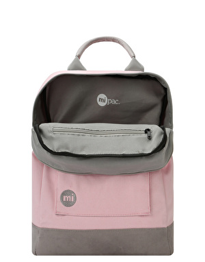 Mi-Pac Canvas Tote Backpack - Pink