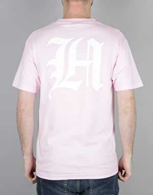 The Hundreds Old H T-Shirt - Pink