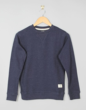 DC Rebel Crew Boys Sweatshirt - Blue Iris