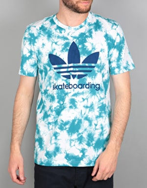 Adidas Crystal 3.0 T-Shirt - Energy Blue/White