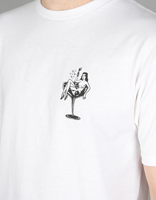 Obey Cocktail Hour T-Shirt - White