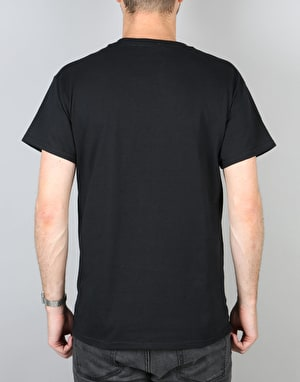 Route One Burger T-Shirt - Black
