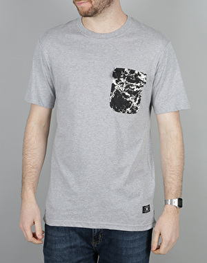 DC Owensbro Pocket T-Shirt - Grey Heather