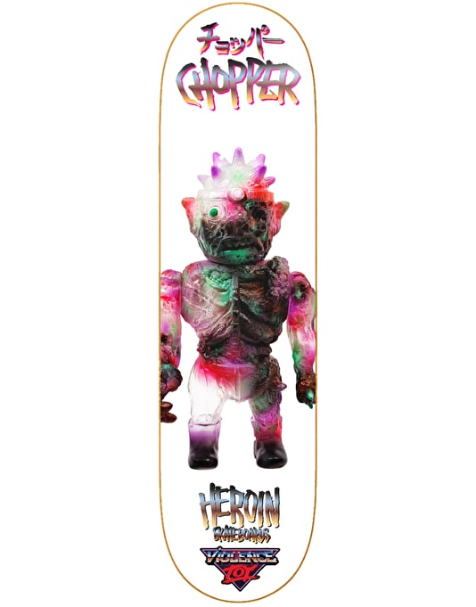 Heroin Chopper Violence Toy Pro Deck - 8""