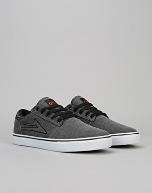 Lakai Brea Skate Shoes - Cement Washed Canvas