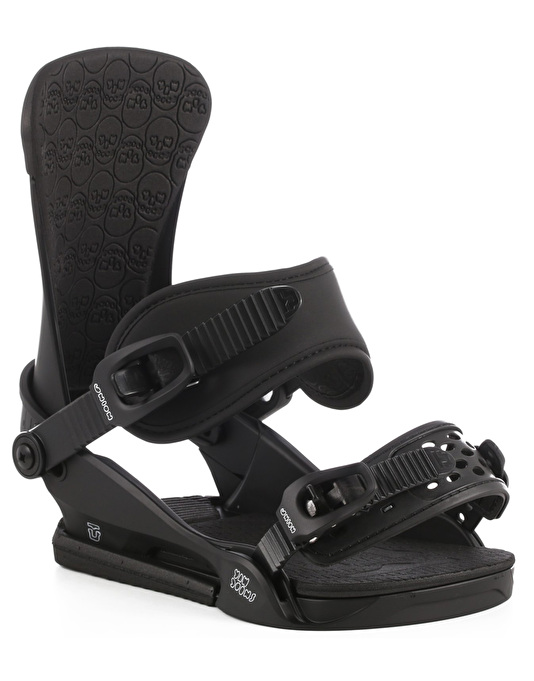 Union x Yawgoons Custom House 2017 Snowboard Bindings - Black