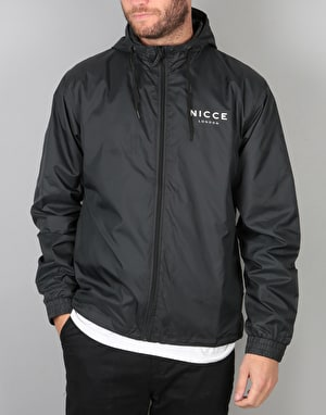 Nicce Peak Jacket - Black