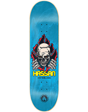 Black Label Hassan Shredder Pro Deck - 8.5