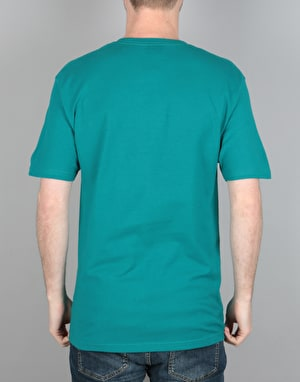 Stüssy Stock Link T-Shirt - Dark Teal